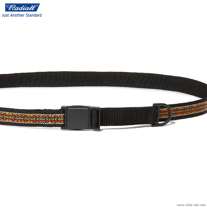 RADIALL RED WOOD - QUICK RELEASE BELT (BLACK)