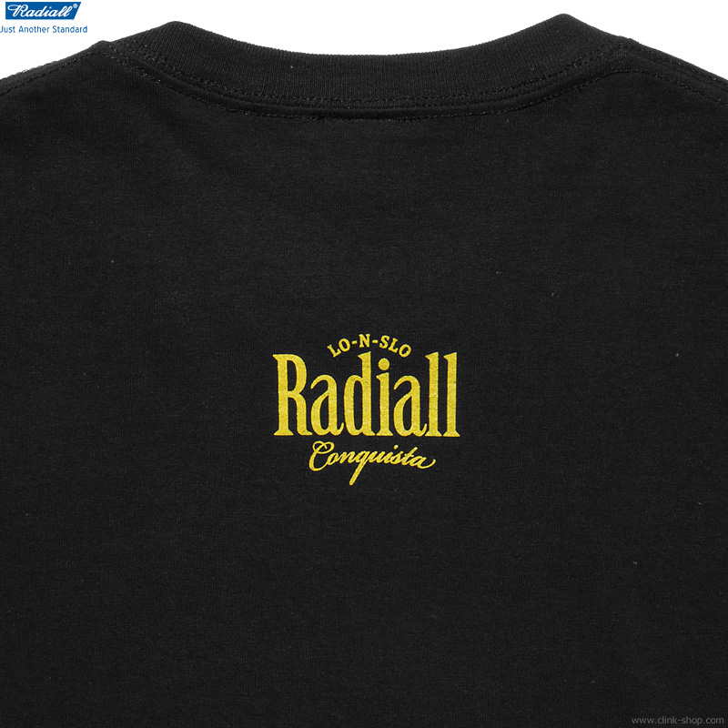 RADIALL ORALE - CREW NECK T-SHIRT S/S (BLACK)