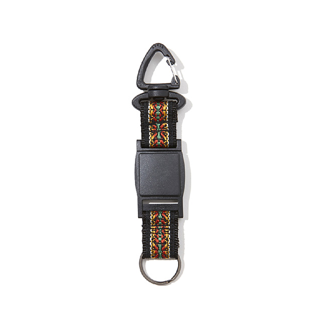 RADIALL RED WOOD - QUICK RELEASE KEY HOLDER (BLACK)
