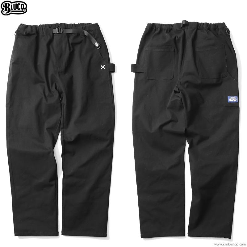 BLUCO STRETCH EASY PANTS (BLACK) [OL-008D-021]