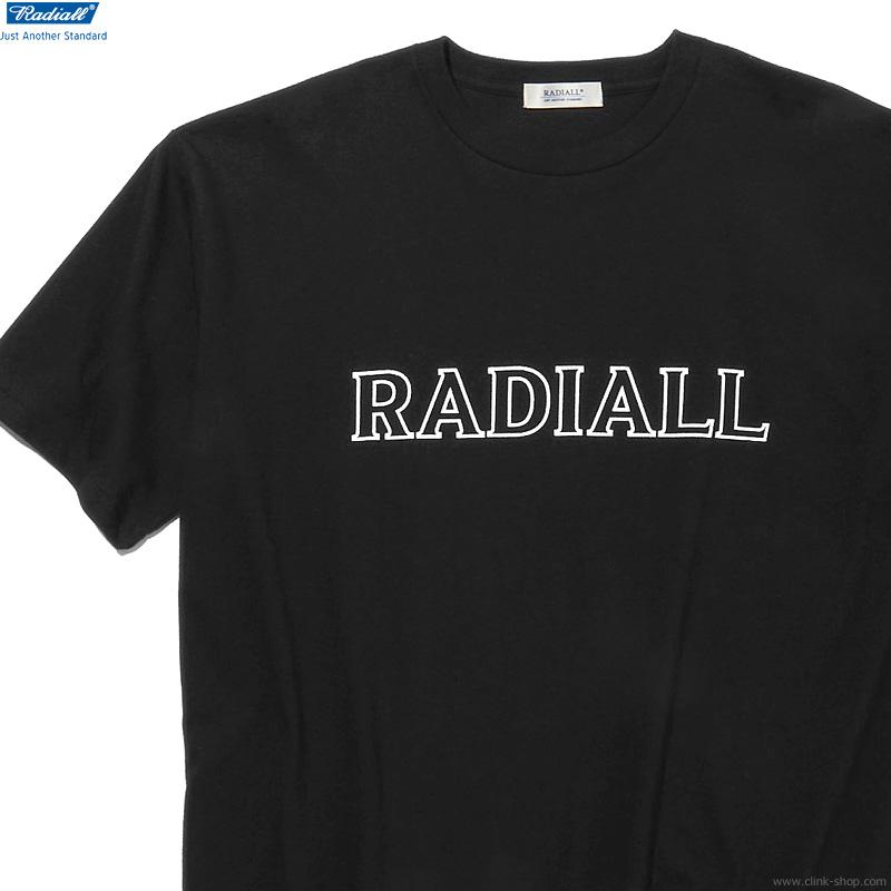 RADIALL OUTLINE - CREW NECK T-SHIRT S/S (BLACK)