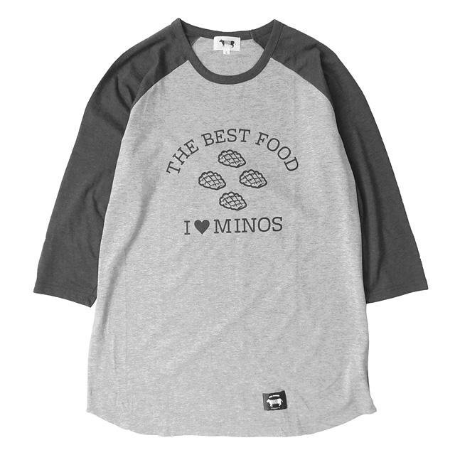 MINOS I LOVE MINOS 3/4 BB TEE [MNR8-TE07]