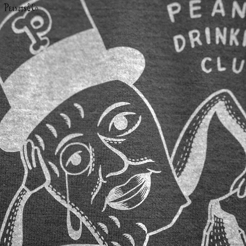 PEANUTS & CO. × MOTAS COLLABORATION PEANUTS CLUB TEE (BLACK)