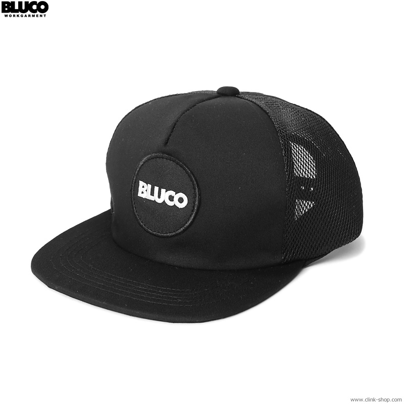 BLUCO MESH CAP -circle patch- (BLACK) [OL-216-021]