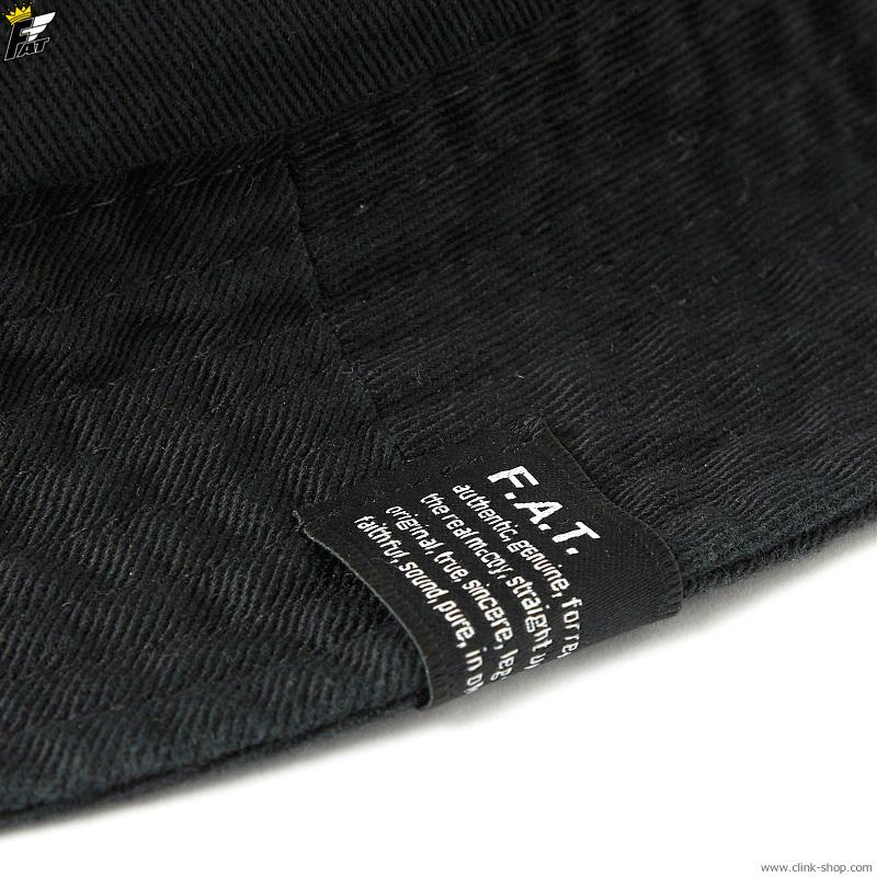FAT TWILLPOT (BLACK) [F32110-CP05]