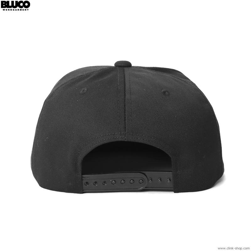 BLUCO FULL PANEL CAP -stamp patch- (BLACK) [OL-214-021]