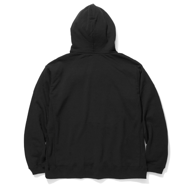 RADIALL FLAME FLAGS - HOODIE SWEATSHIRT L/S (BLACK)
