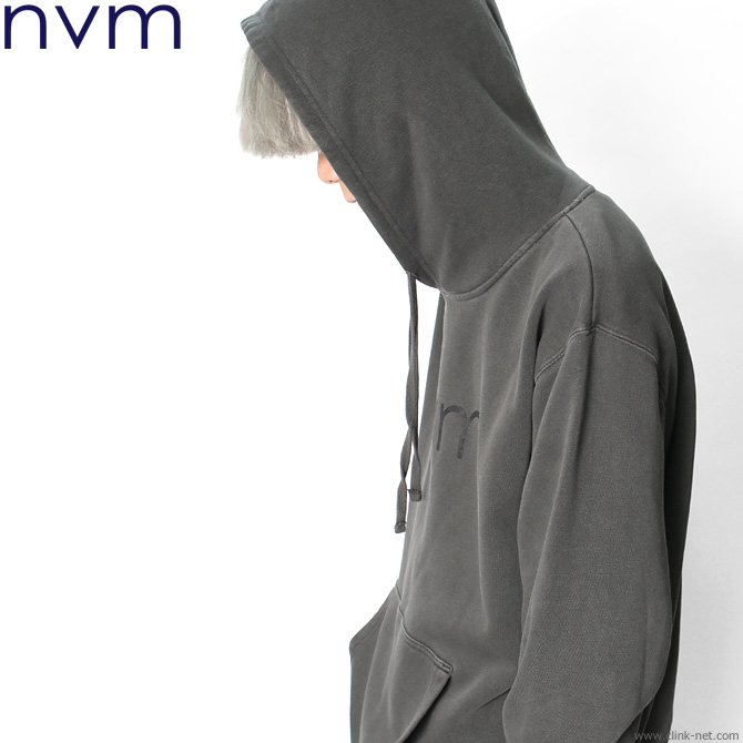 ★SALE★NVM LOGO PARKA (CHARCOAL) [NVM18A-SW01]