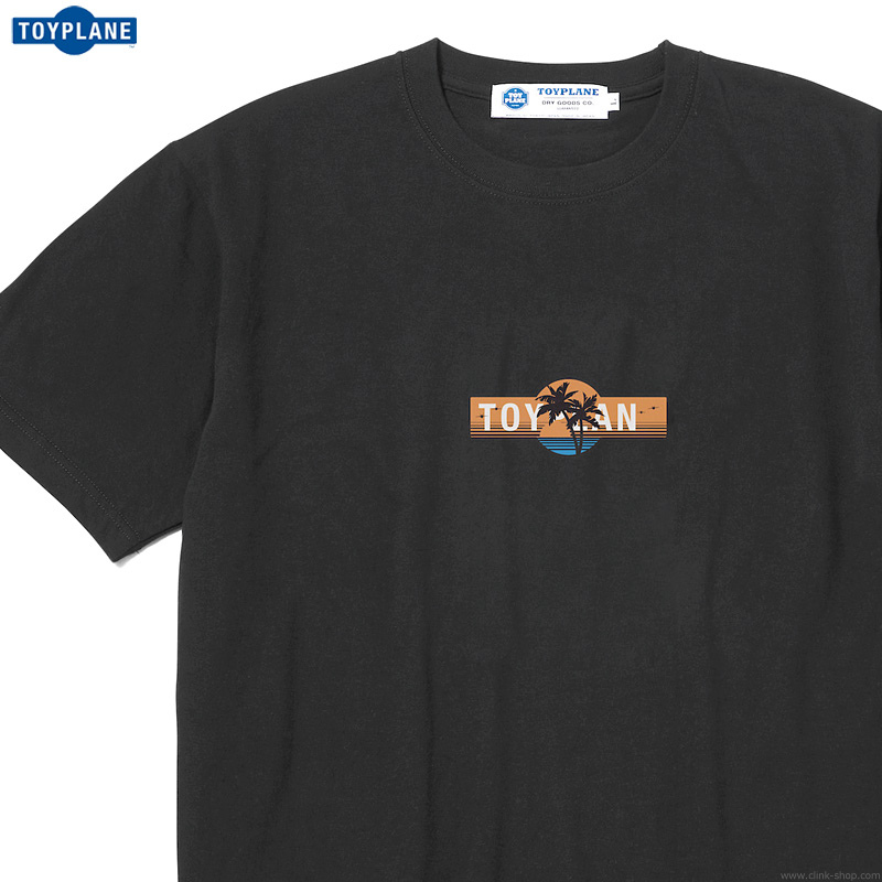 TOYPLANE S/S CHILL OUT TEE (BLACK) [TP20-NTE08]