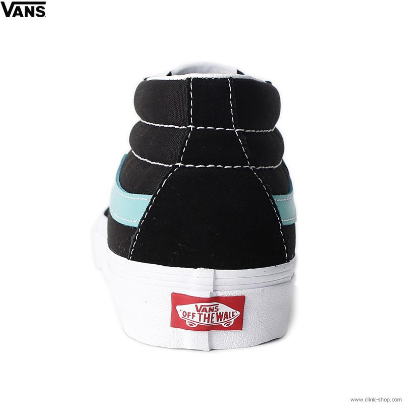 VANS SK8-MID BLACK/WATER (CLASSIC SPORT)