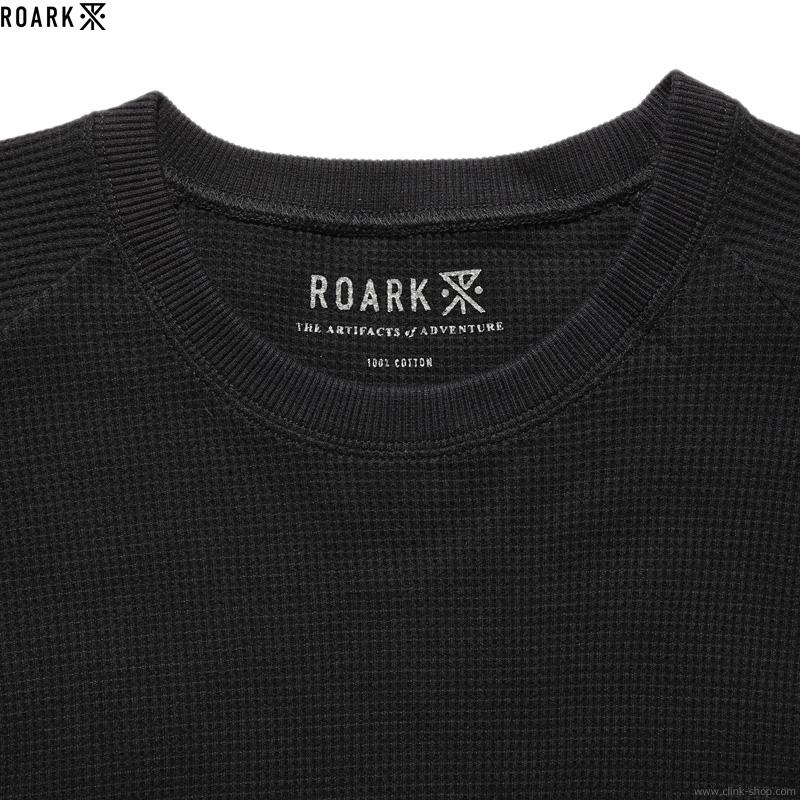 ROARK REVIVAL REUSE 2PACK THERMAL TEE (BLK/WHT)