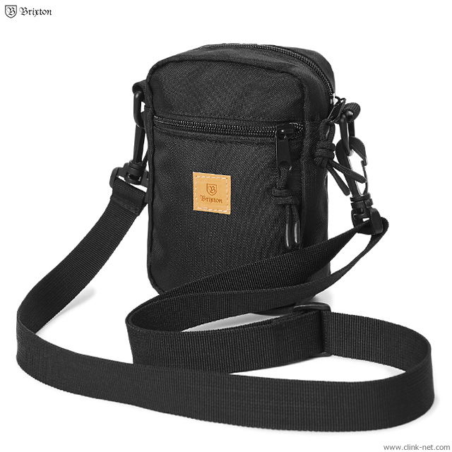 BRIXTON MAIN LABEL HIP PACK (BLACK)