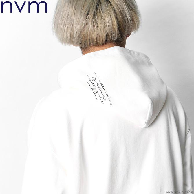 NVM NEVERMIND PO.PARKA (WHITE) [NVM18A-SW03]