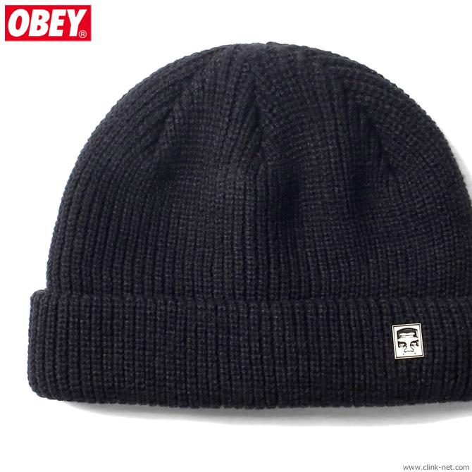 OBEY MICRO BEANIE (BLACK)