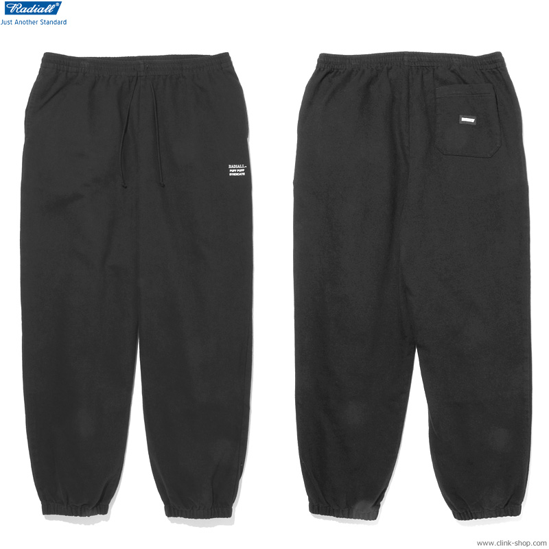 SALE 30%OFF RADIALL SYNDICATE - TRACK PANTS (BLACK)
