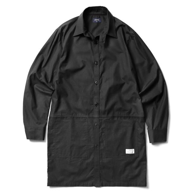NVM SHIRTS COAT (BLACK) [NVM18S-JK01]