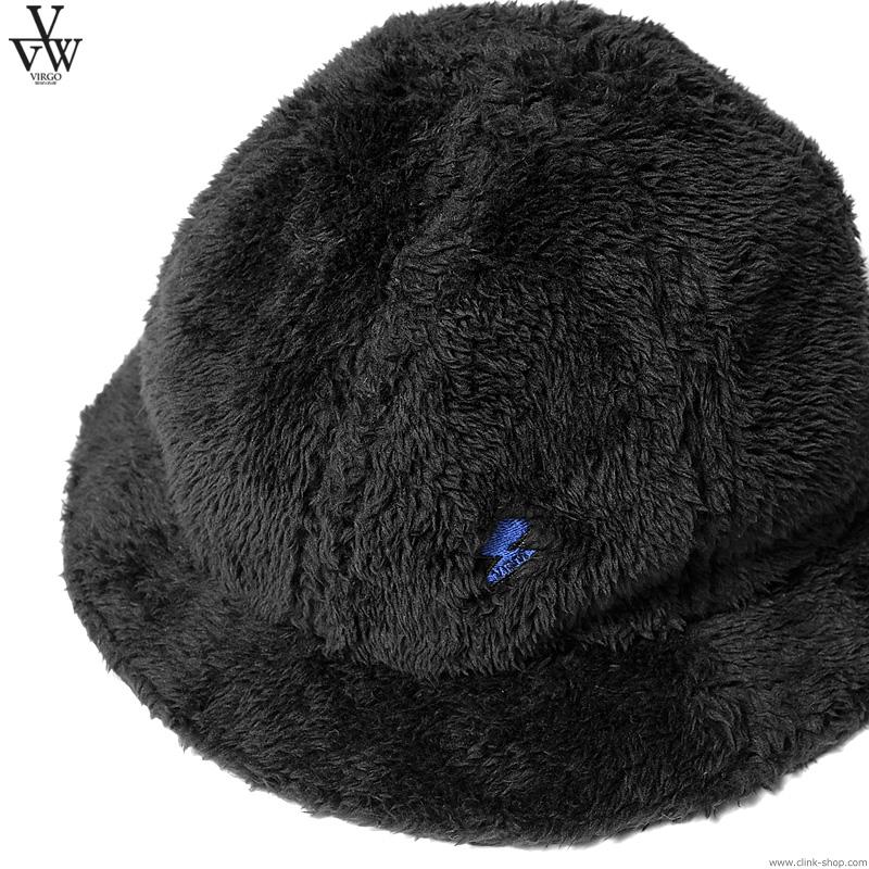 VIRGO LIGHTNING BOA HAT (BLACK) [VG-GD-648]
