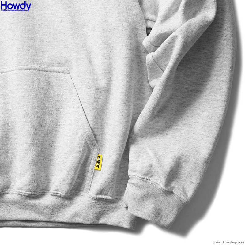 Howdy Beer Boy Hoody (ASH) [HWD2003-SW01]