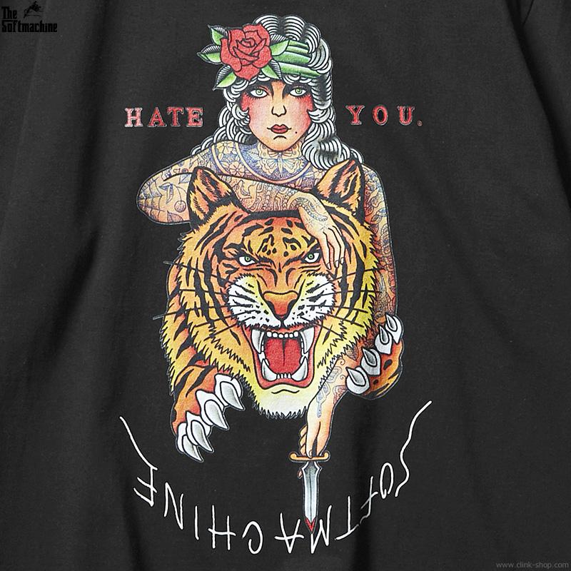 SOFTMACHINE HATE YOU-T (BLACK)