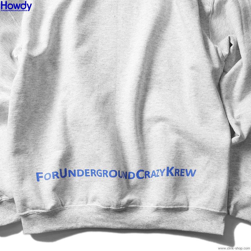 Howdy Box Logo Hoody (ASH) [HWD2003-SW03]