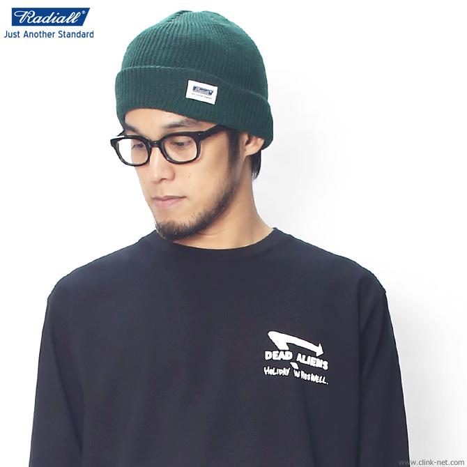 ★SALE★ RADIALL C-10 - WATCH CAP (GREEN)