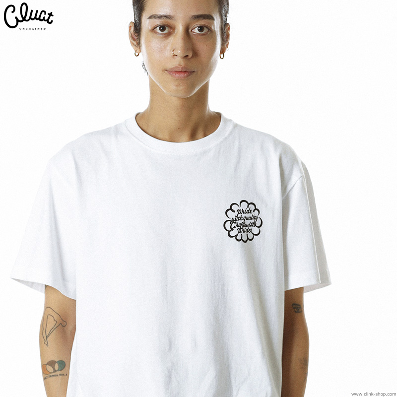 CLUCT CW-CARP S/S (WHITE) #04043