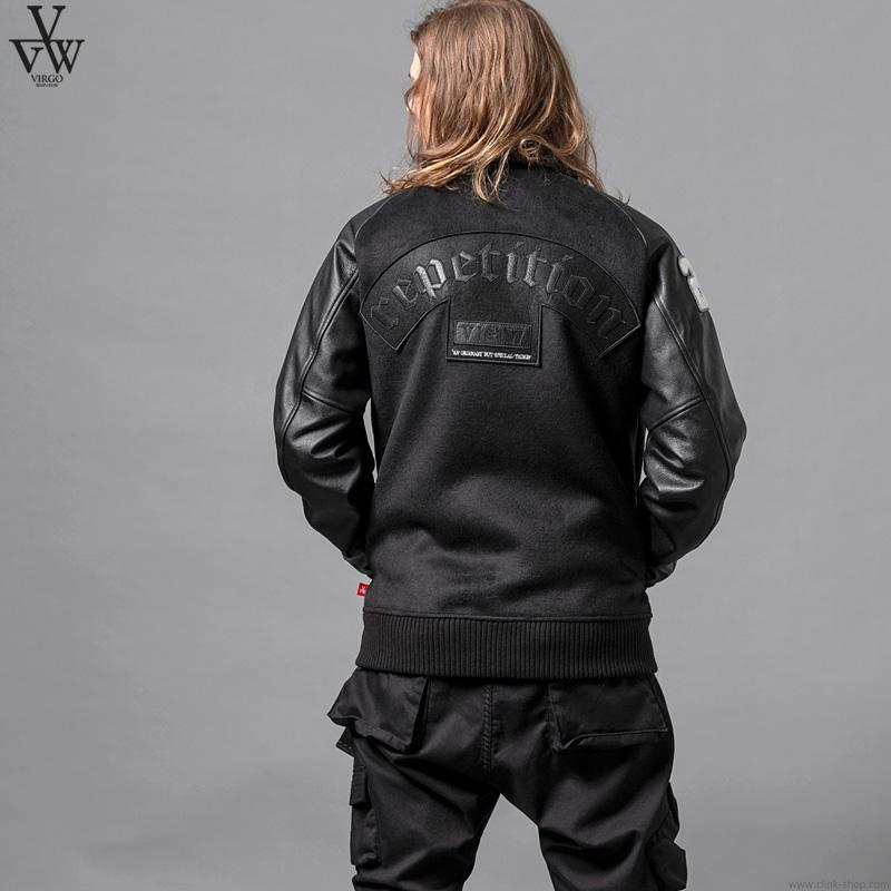 VIRGO VGW CREW STADIUM JKT (BLACK) [VG-JKT-330]