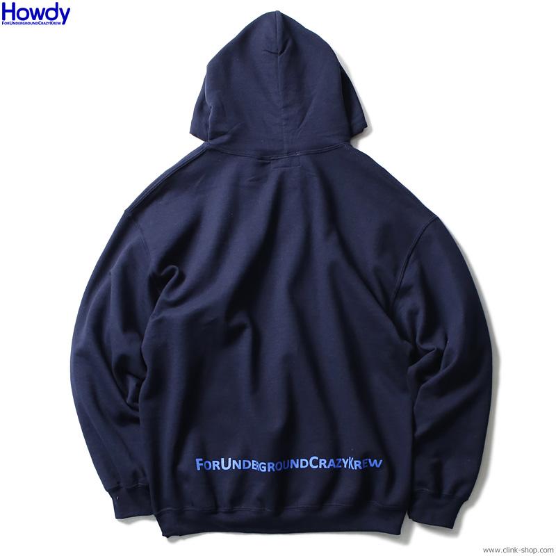 Howdy Box Logo Hoody (NAVY) [HWD2003-SW03]