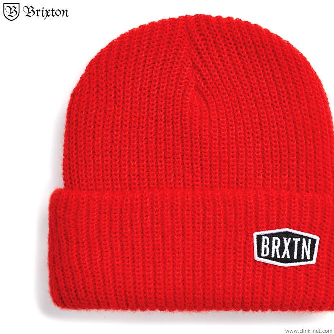★SALE★ BRIXTON MALT BEANIE (RED)