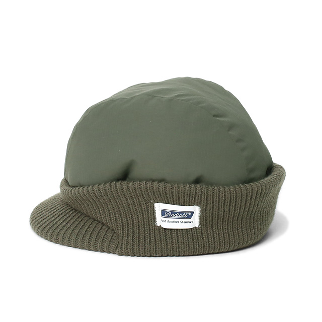 RADIALL STORM - WATCH CAP (OLIVE)