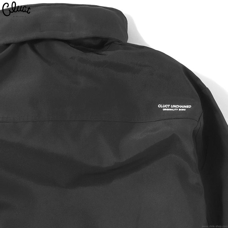 CLUCT CLT-MOUNTAIN JKT (BLACK×BLACK) #04110