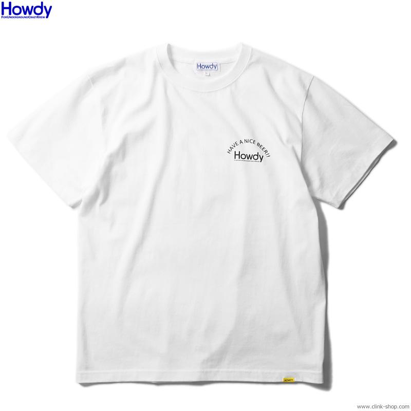 Howdy Beer Boy T (WHITE) [HWD2003-TE01]