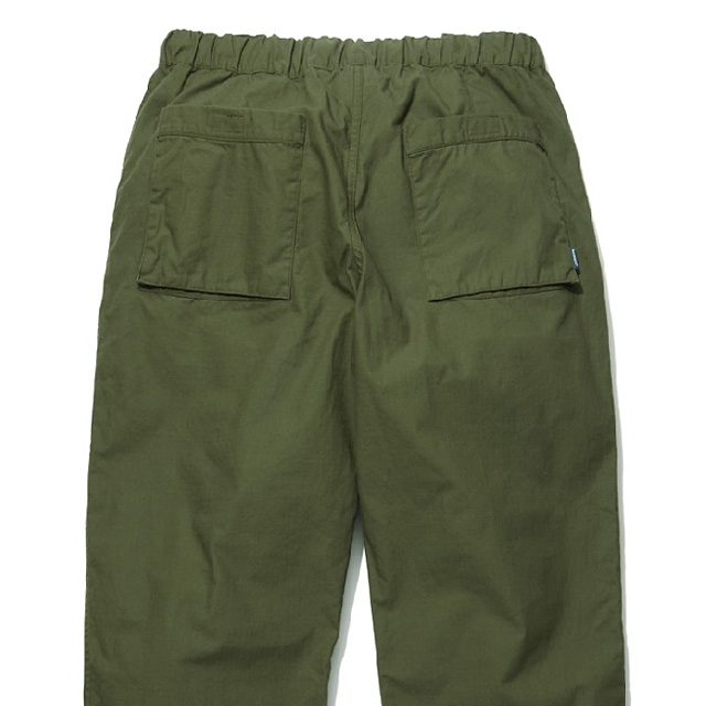 RADIALL MONK - WIDE FIT EASY PANTS (OLIVE)