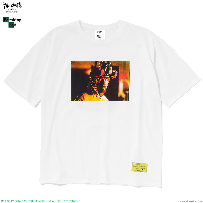 CLUCT HEISENBERG S/S (WHITE) [BREAKING BAD×CLUCT] #04095