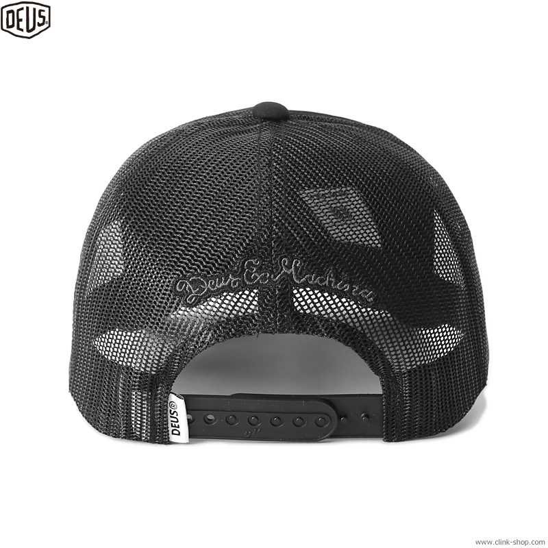 DEUS EX MACHINA HAYWARD SHIELD TRUCKER (BLACK)