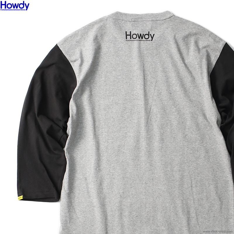 Howdy ILS BB T (BLACK) [HWD2101-TE02]