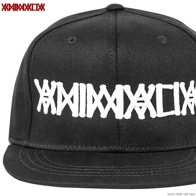 ANIMALIA LOGO SNAPBACK CAP(BLACKxWHT刺繍) [AN19W-CP03]