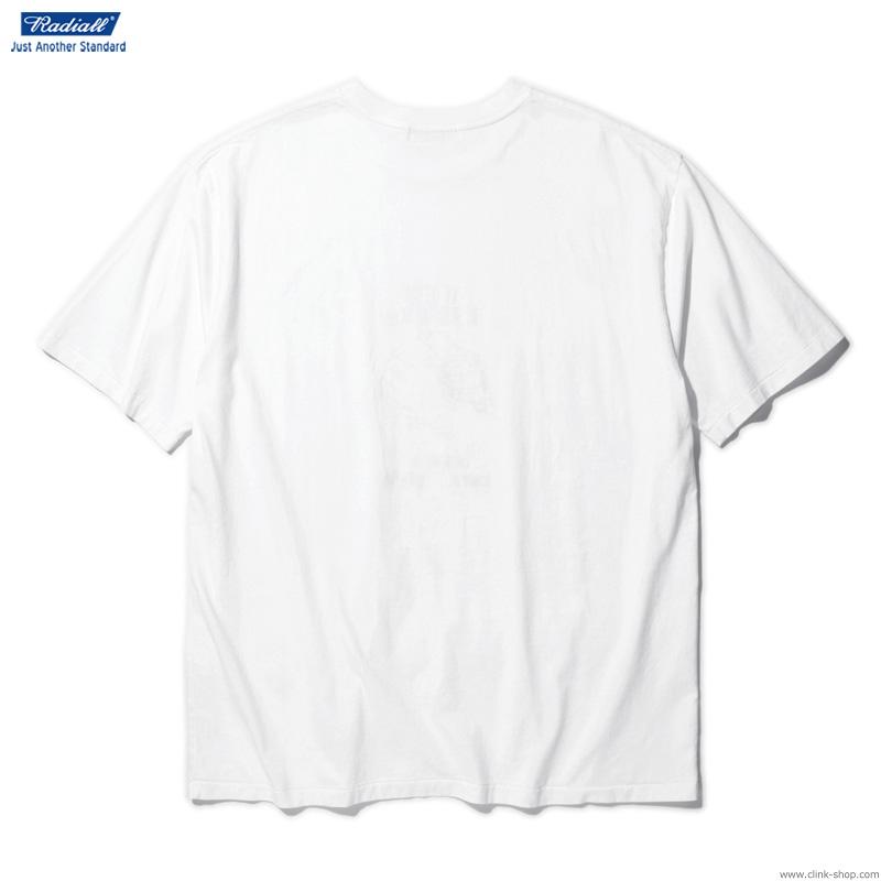 RADIALL NEW LIFERS - CREW NECK T-SHIRT S/S (WHITE)