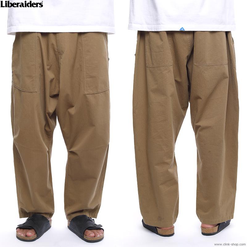 LIBERAIDERS HERRINGBONE SARROUEL PANTS #73701
