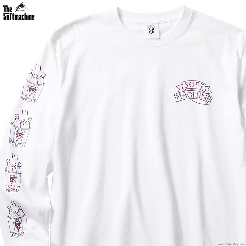 SOFTMACHINE FRY L/S (WHITE)