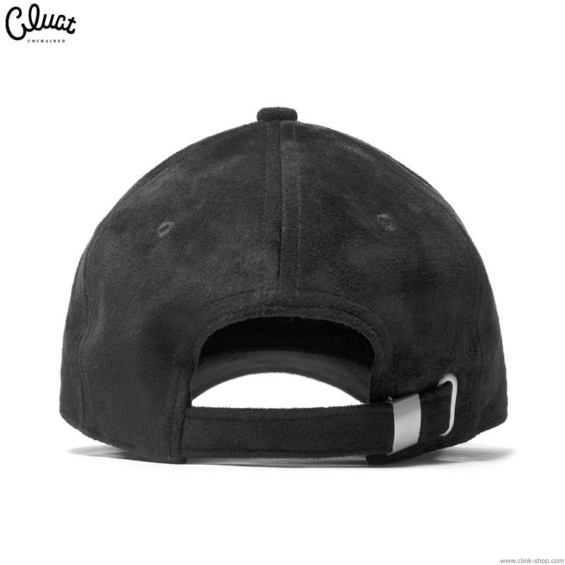 CLUCT CLT-SUEDE CAP (BLACK) #04167