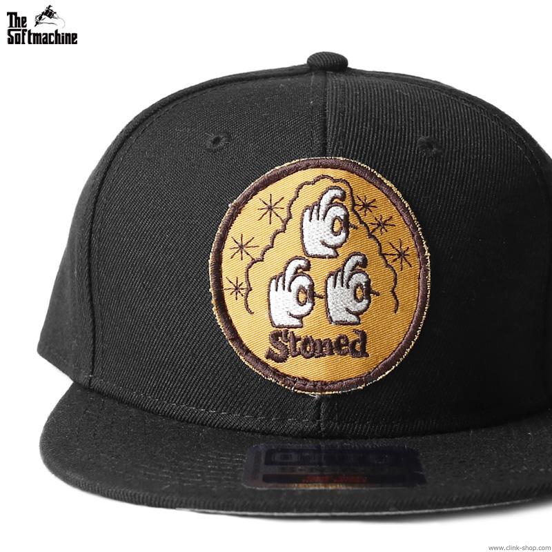 "SOFTMACHINE REVIVAL WAPPEN CAP ""STONED"" [CLINK LTD. EDITION]"