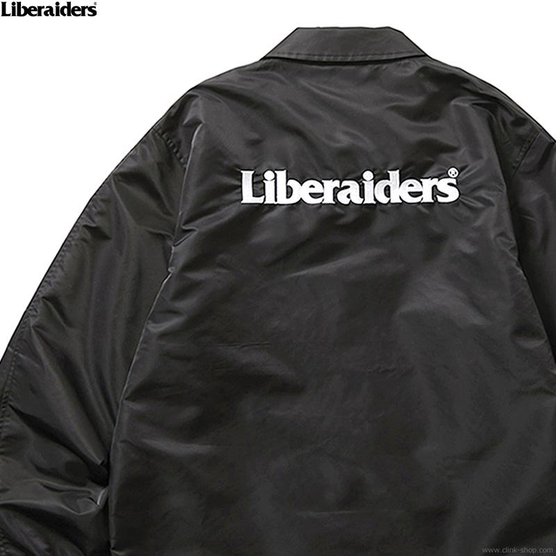 LIBERAIDERS OG EMBROIDERY COACH JACKET (BLACK) #73004