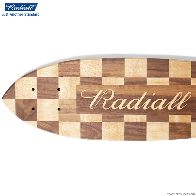 RADIALL TEN SECONDS - WOOD SKATEBOARDS