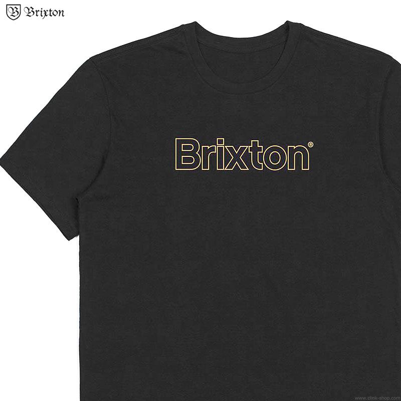 BRIXTON BARRIER S/S PREMIUM TEE (BLACK)