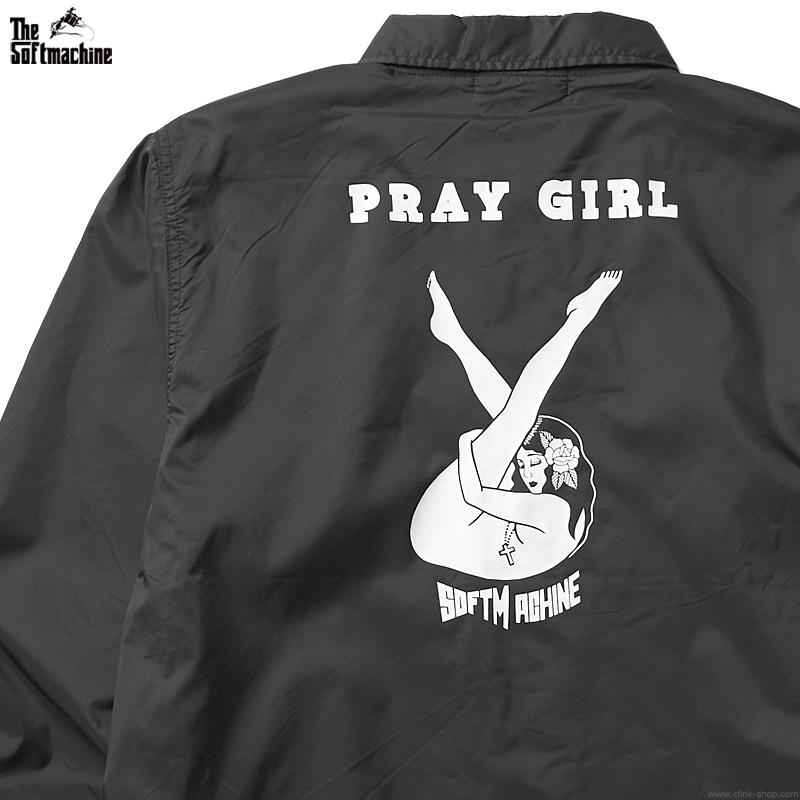 SOFTMACHINE  PRAY GIRL JK (BLACK)