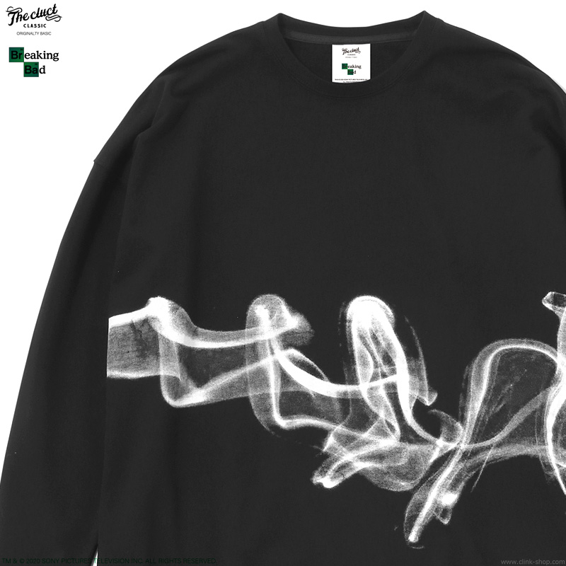 CLUCT BREAKING BAD L/S (BLACK) [BREAKING BAD×CLUCT] #04105