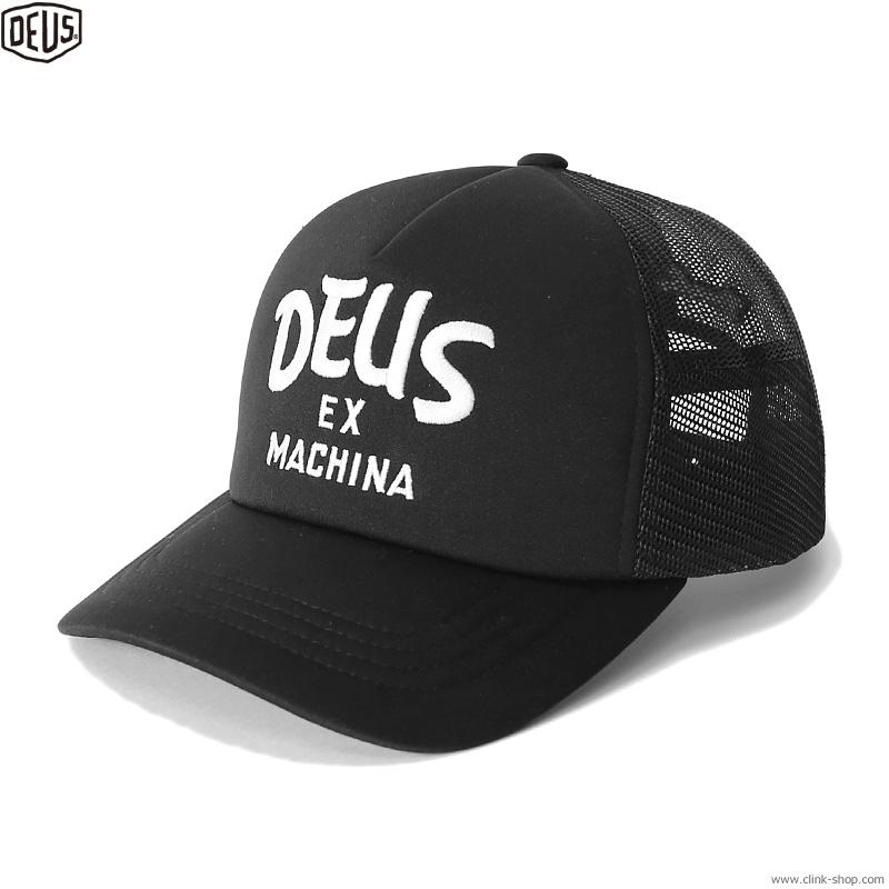 DEUS EX MACHINA CURVY TRUCKER (BLACK)