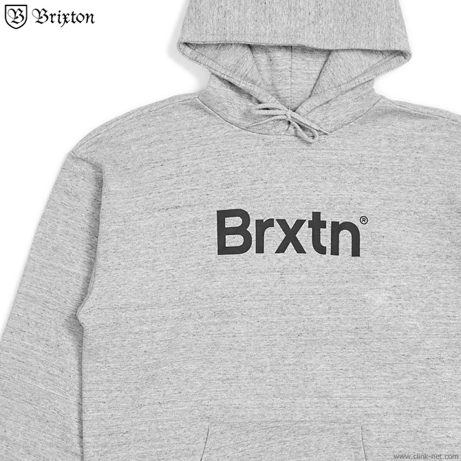 BRIXTON GATE HOOD (HEATHER GRAY)