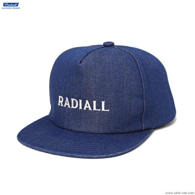 RADIALL CVS - TRUCKER CAP (INDIGO)